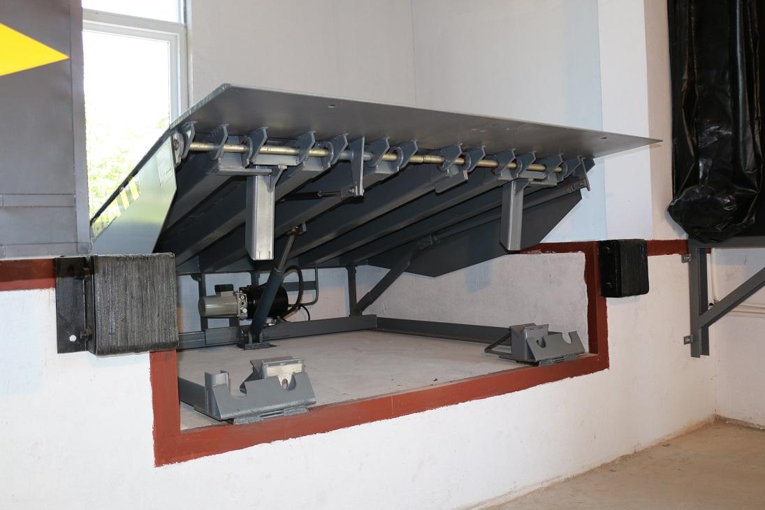 液压式调节板